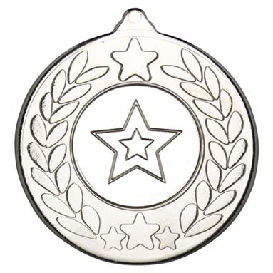 M18S Silver Star Wreath Medal 50mm