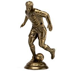 FG726B Football Figure Trophy on Marble Base