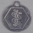 Steel Medical Tag