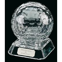 Quality Lead Crystal Golf Award