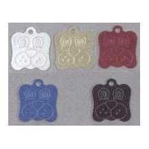 Aluminium Dog Pet Tag