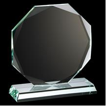 Ruby Collection Octagon Glass Plaque