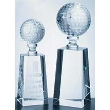 Optical Crystal Golf Award