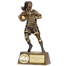 A1328A Female Rugby Trophy