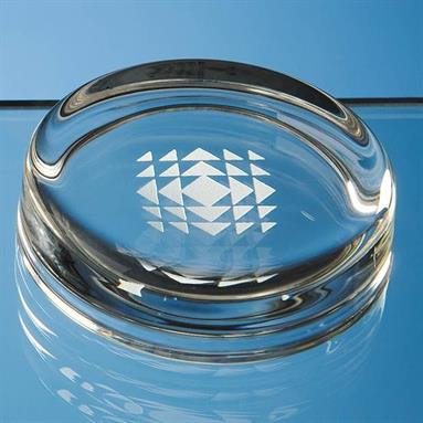 F1 Glass 70mm Round Paperweight