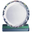 Optical Crystal Desktop Diamond Award - Round