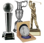 Resin Golf Trophies, Glass Golf Trophies, Golf Medals and Cups