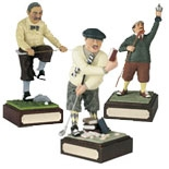 Funny Golf Figure Trophies