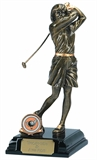 Womens Ladies Golf Trophies