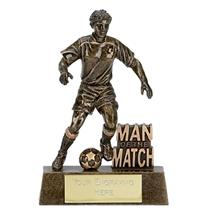Man of the Match Football Trophy A875