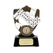White Dominoes Resin Trophy A898B