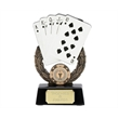 Resin Playing Card Trophy A897