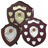 Golf Shield Trophies