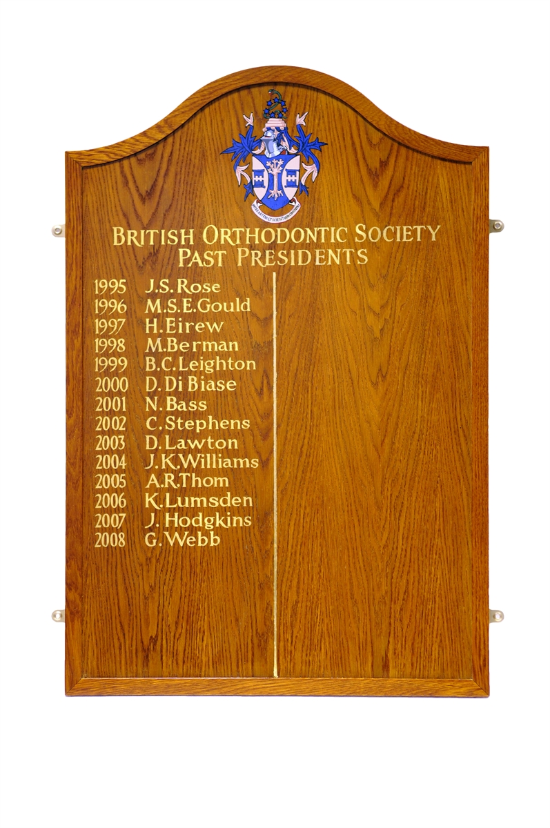 Honour Board Example