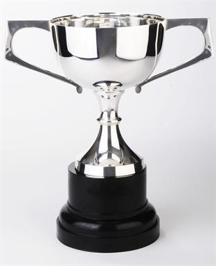 Silverplated Trophy