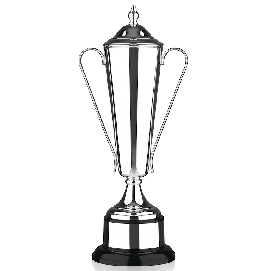 Silverplated Trophy Cup L405
