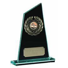 25cm Jade Glass Award JC006BT