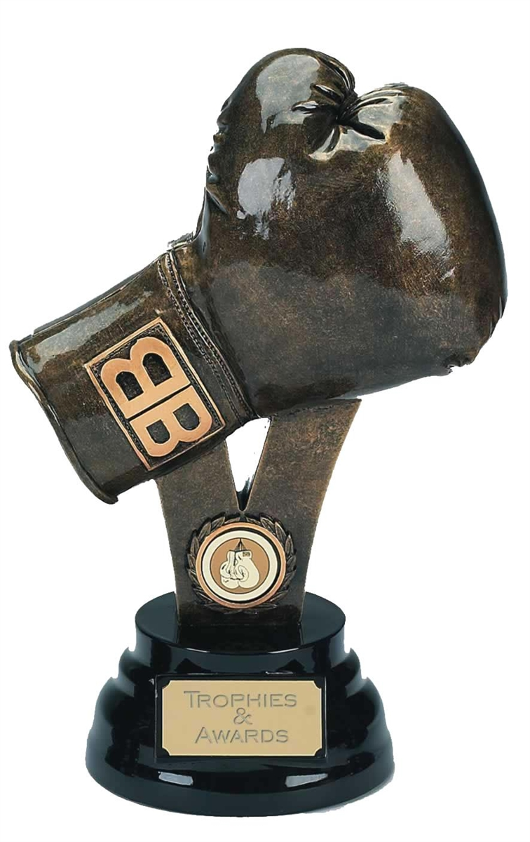 resin boxing glove trophy A307
