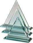 Aztec Jade Glass 'Pyramid'