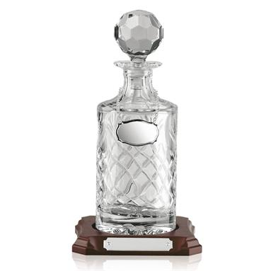 Round Handcut Crystal Decanter