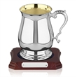 Hallmarked Sterling Silver Tankard with Gold Plated Interior