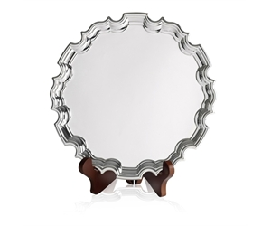 Silver Plated Chippendale Trays - Without Feet
