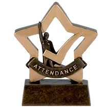 Attendance Trophy Mini Star Award A974