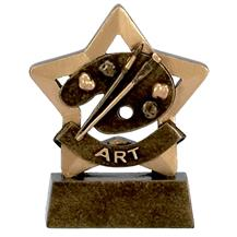 Art Mini Star Trophies A946