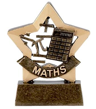 Maths Mini Star Award - A950