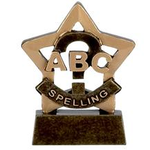 Spelling Mini Star Award - A947