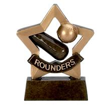 Rounders Trophy Mini Star Award - A976