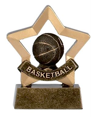 Basketball Mini Star Award - A964