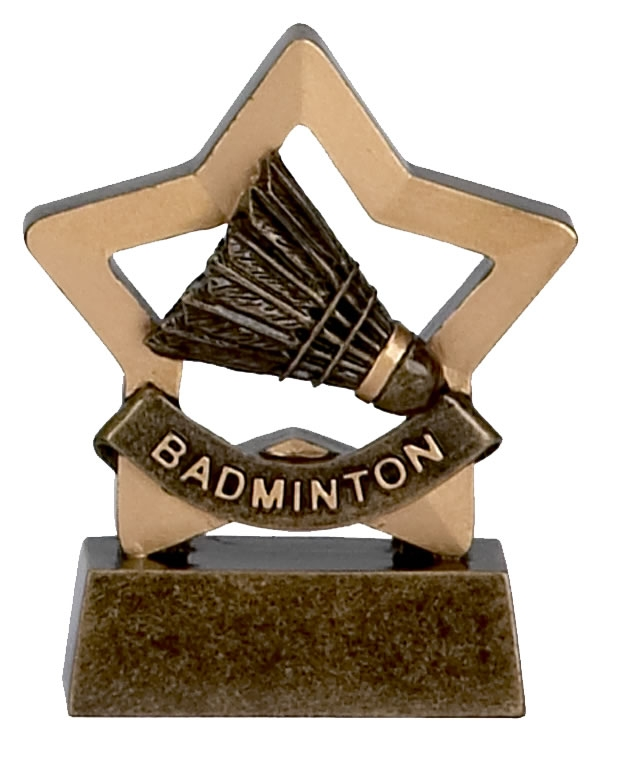 Badminton Mini Star Award - A967