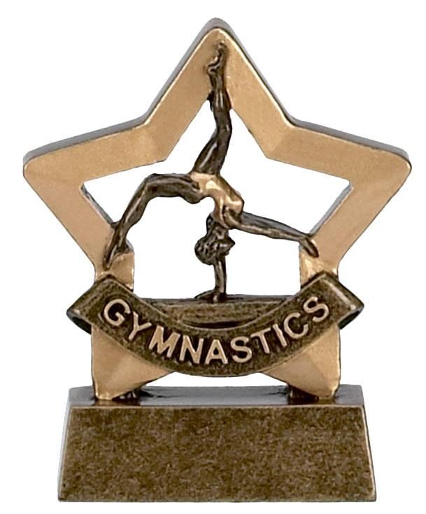 Female Gymnastics Mini Star Award - A962