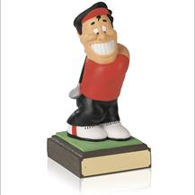 8inch Hand Painted Golf Figure - Longest Drive - SH07