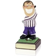 8inch Hand Painted Golf Figure - Hacker - SH16