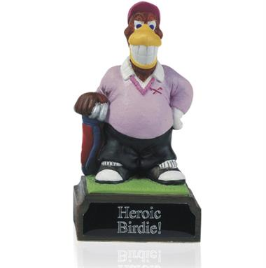 4inch Hand Painted Golf Figure -  Birdie - H03