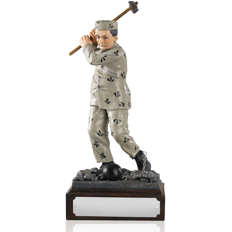 Humorous 8.25inch Addicted to Golf Award