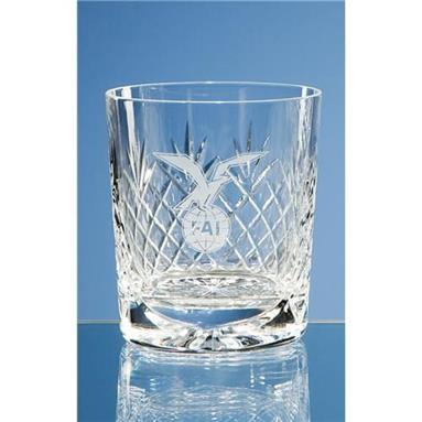 Gallery Lead Crystal Panel Whiskey Tumbler - SW36