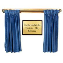 Presentation Curtain Hire - Blue