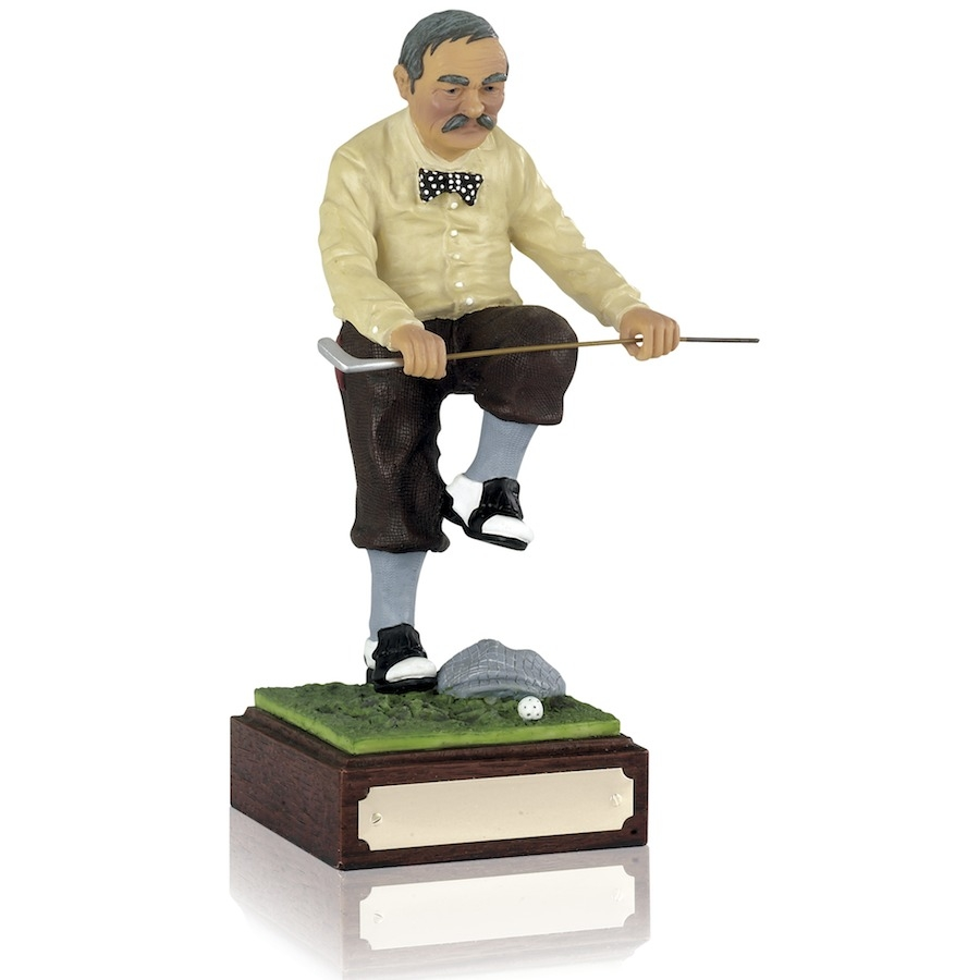 Nostalgic Golf Gift / Award - 'Sell the Clubs'
