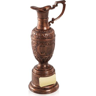 St Anne's Resin Award in Old English Copper Finish - Available in 3 sizes