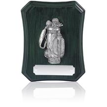 Presentation Golf Bag Plaque - 5inch - RS30