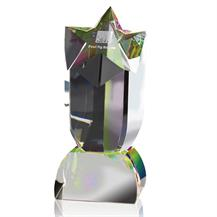 Substantial Optical Crystal Star Awards - AC84