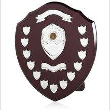 Large Traditional Shield with Veneer Finish - 16 inch - SV16