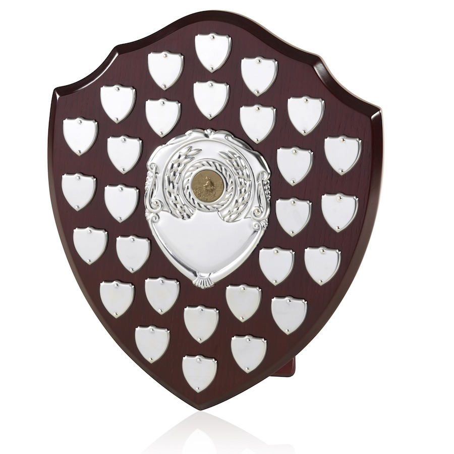 Large Traditional Perpetual Shield Awards - 12inch - 28 Shield - BPS28/12