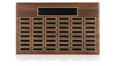48 Entry Perpetual Wall Plaque - WP05