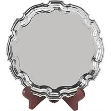 Nickel Plated Heavyweight Salvers - 5 sizes - S3