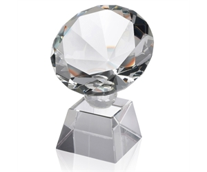Diamond Shaped Award on Base