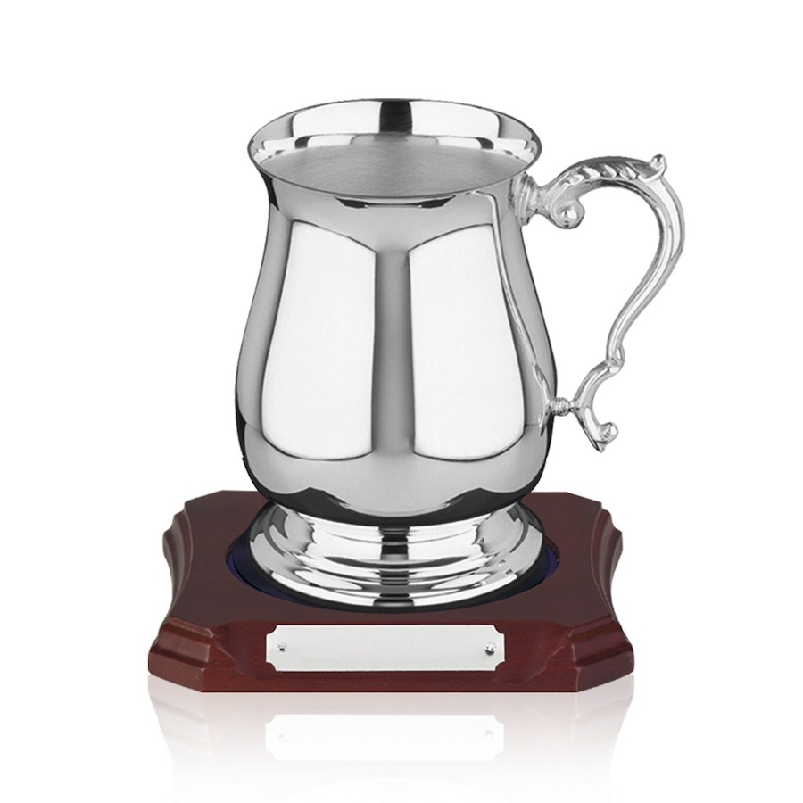 Silver Plated Georgian Tankard - 2 sizes available - 698
